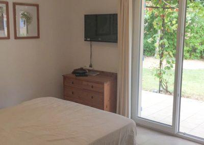 Slaapkamers beneden met vrij uitzicht en airco