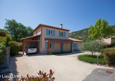 Villa met vrij uitzicht voor 8 personen